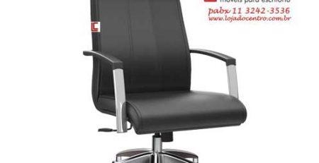 Cadeira Presidente Premium Preta, Cadeira Presidente Top, Poltrona Presidente Top