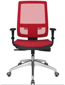 Cadeira Presidente Color Vermelha