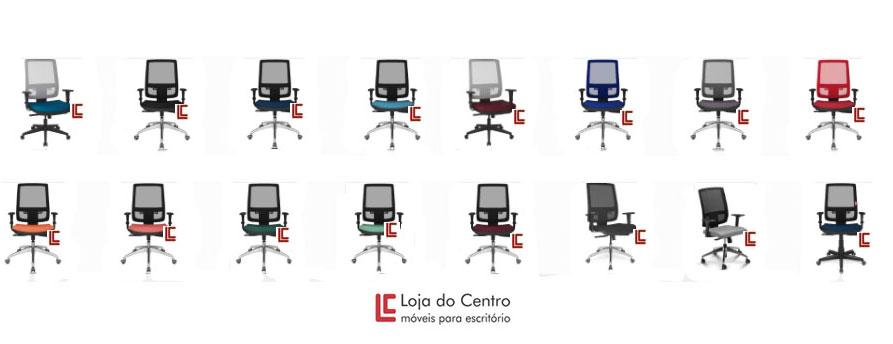 Cadeira Tela Cores