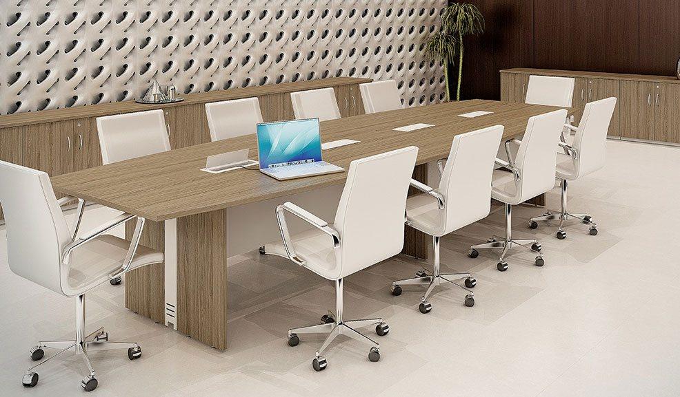 Mesa de Reunião 10 Lugares - Mesas Para Reunião - Moveis para Escritorio SP