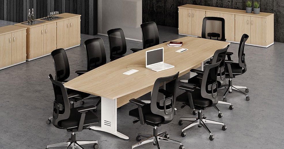 Mesa de Reunião 10 Pessoas - Destaque Mesas - Moveis para Escritorio SP