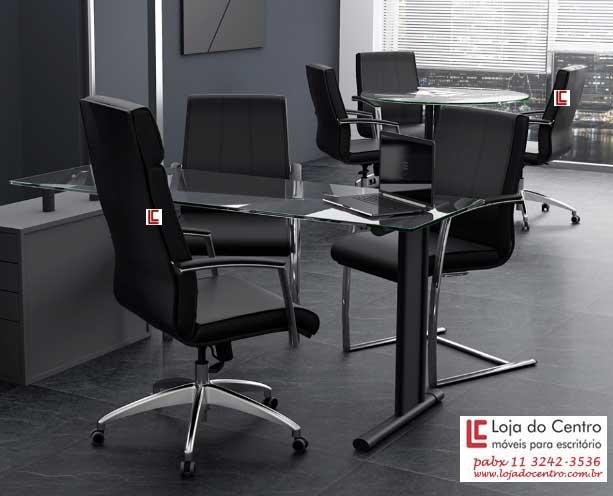 Cadeira Presidente Premium Preta, Cadeira Presidente Top, Cadeira Presidente Luxo