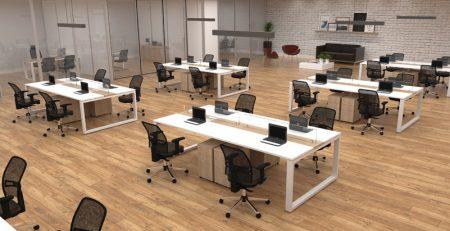 Mesa Plataforma Contemporanea, estação de trabalho