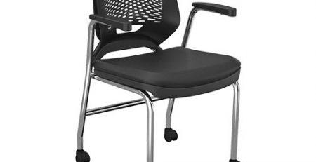 cadeira 4 pes com rodizios para reunião, cadeiras para escritorio sp