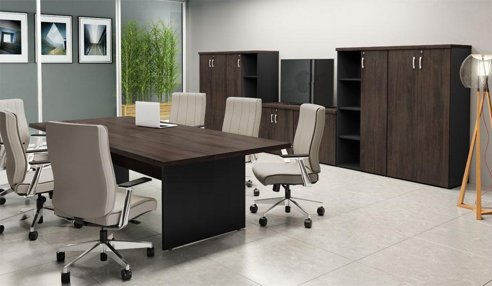 Mesa de Reunião 40mm Bart - Mesas Para Escritório - Moveis para Escritorio SP