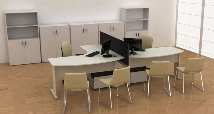 Mesa Para Atendimento Off - Mesas para atendimento - Moveis para Escritorio SP