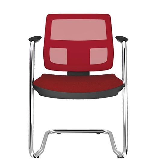 Cadeira Fixa Tela Colorida - Cadeira Fixa Visita - Moveis para Escritorio SP