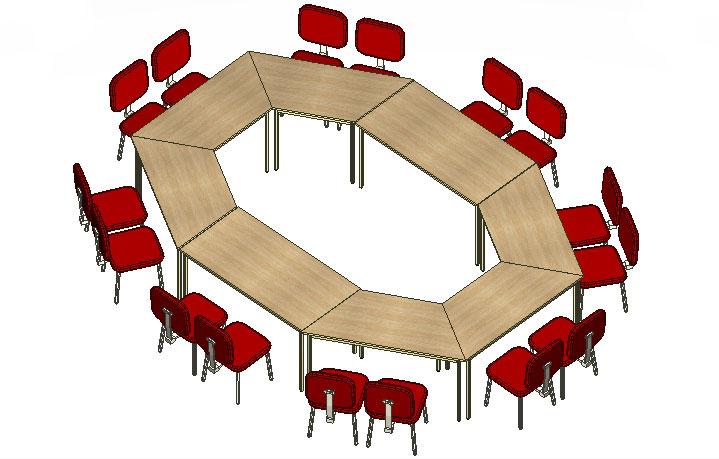 Mesa Para Treinamento - Mesas Para Reunião - Moveis para Escritorio SP