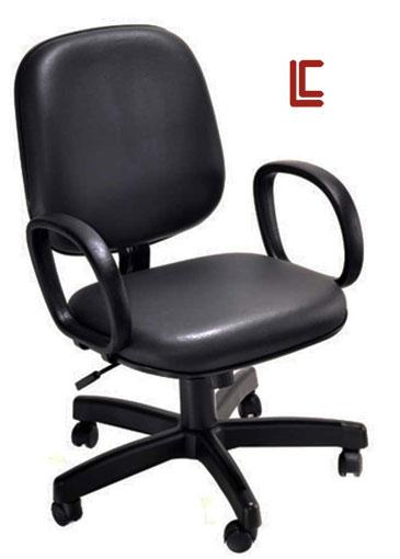 Cadeira Diretor Preta - Cadeira Diretor Gerência - Moveis para Escritorio SP