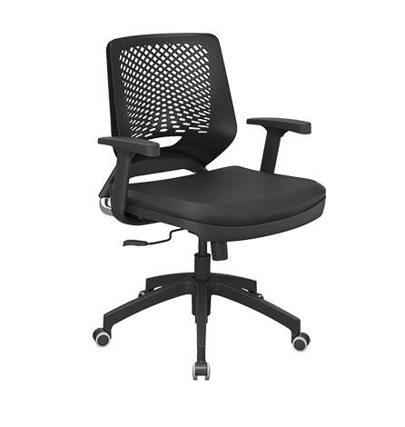Cadeira Giratória Preta Bee - Cadeira Executiva Secretária - Moveis para Escritorio SP