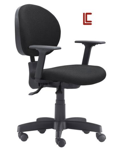 Cadeira Operativa Preta - Cadeira Executiva Secretária - Moveis para Escritorio SP