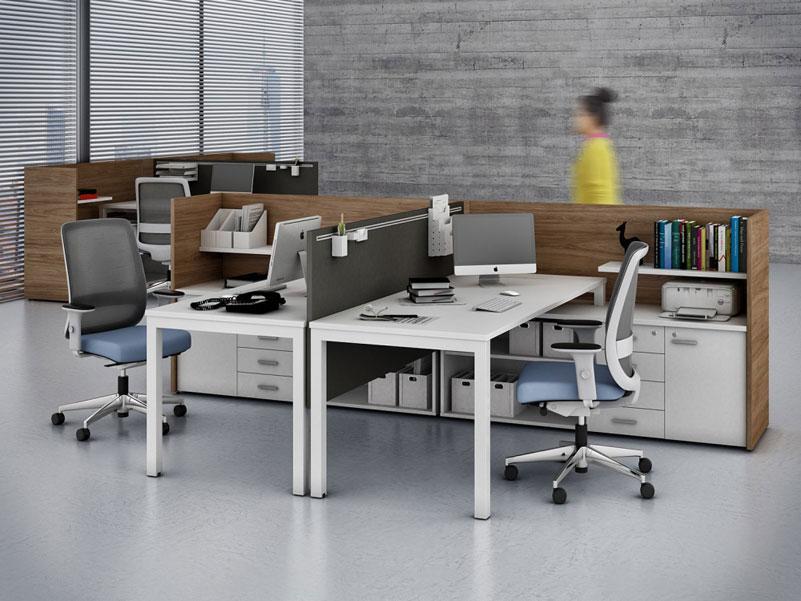 Estação de Trabalho Diretoria - Estação de Trabalho Econômica - Moveis para Escritorio SP