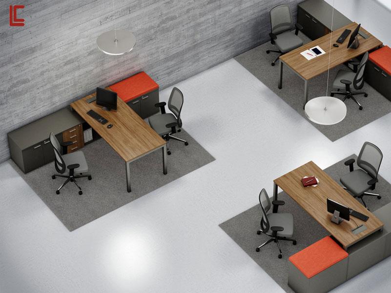 Mesa Diretor com Armários - Mesas Para Diretoria - Moveis para Escritorio SP
