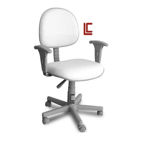 Cadeira Giratória Branca - Cadeira Executiva Secretária - Moveis para Escritorio SP