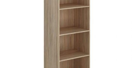 estante para livros aberta, estante biblioteca