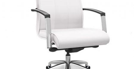 Cadeira Diretor Branca, Cadeira para escritório branca, cadeira para consultório branca