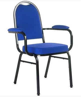 Cadeira Empilhável Hotelaria Com Braços - Cadeira Empilhável - Moveis para Escritorio SP