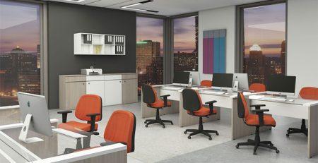 Cadeiras Operativas para Escritório Coloridas