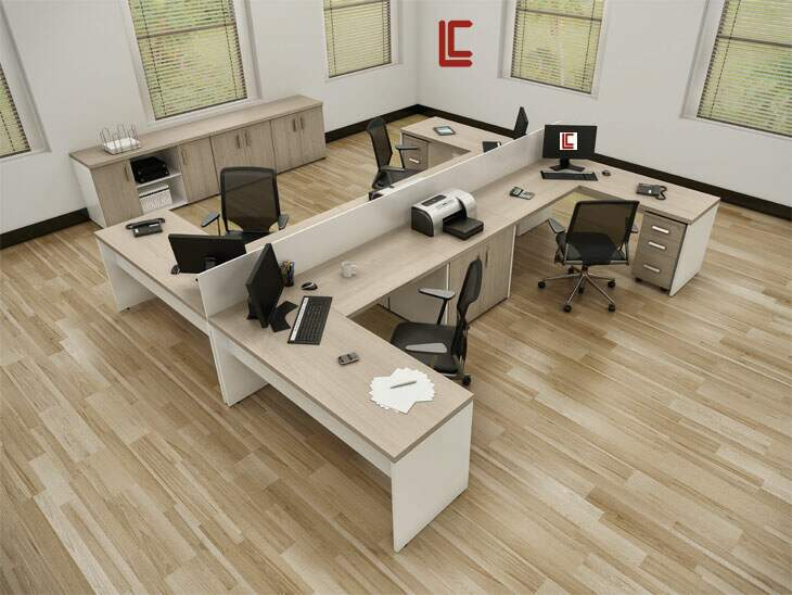 Estação de Trabalho PR 40 LC - Estação de Trabalho Econômica - Moveis para Escritorio SP