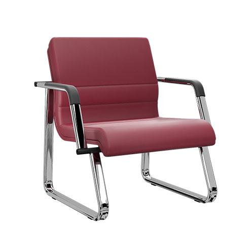 Sofá 1 Lugar para Recepção e Espera LC - Destaque Cadeiras - Moveis para Escritorio SP