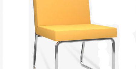 Sofá Design LC Cromo Oferta; Sofá para escritório promoção, sofá para escritório sp