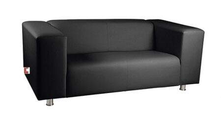 Sofá para Recepção Confort preto, Sofá para Recepção SP