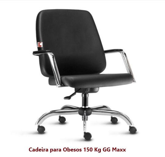 Cadeira para Obesos 150 kg - Cadeiras para obesos - Moveis para Escritorio SP