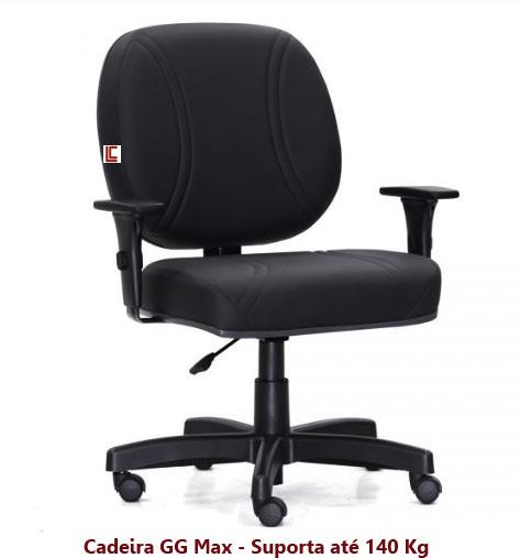 Cadeira para Obesos 140 Kg - Cadeiras para obesos - Moveis para Escritorio SP