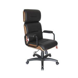 Cadeira Presidente Wood Black em SP, Cadeira Presidente Wood Black SP