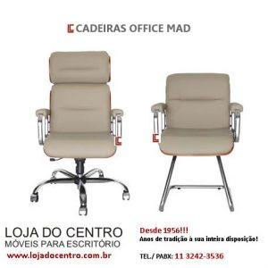 Cadeiras Office Mad SP, Cadeiras Office Mad em SP