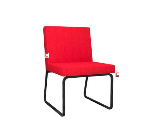 Sofá Design LC Preto - Acessórios / Complementos Móveis para Recepção - Moveis para Escritorio SP