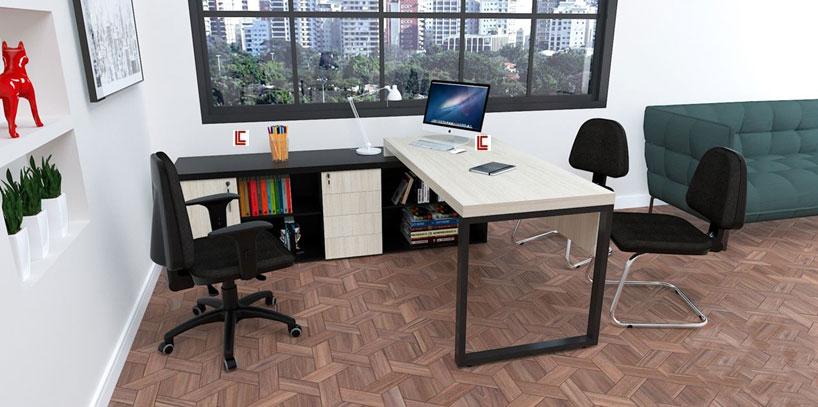 Mesa Office Mart - Destaque - Moveis para Escritorio SP