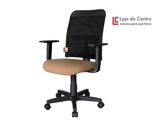 Cadeira Giratória Tela - Cadeira Diretor Gerência - Moveis para Escritorio SP
