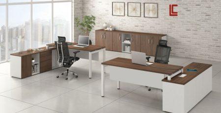 Mesa Plataforma Diretor Gerente, Mesas de escritório SP, Mesas Office SP