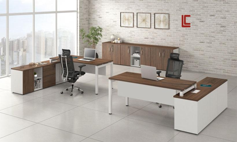 Mesa Plataforma Diretor - Estações de Trabalho - Moveis para Escritorio SP