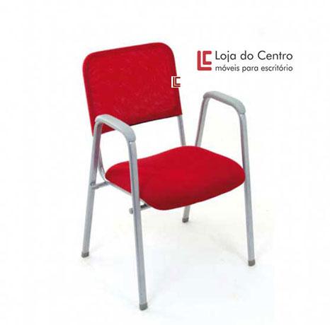 Cadeira Empilhável Tela - Cadeira Empilhável - Moveis para Escritorio SP