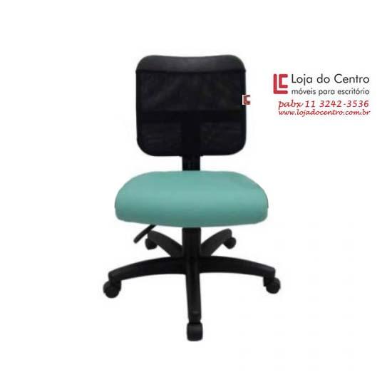 Cadeira Giratória Tela - Cadeira Executiva Secretária - Moveis para Escritorio SP
