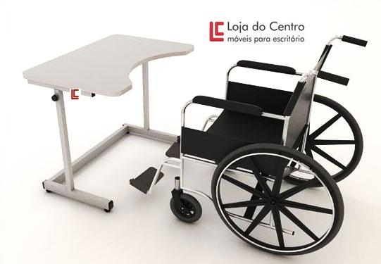 Mesa para Cadeirante - Cadeira Universitária - Moveis para Escritorio SP
