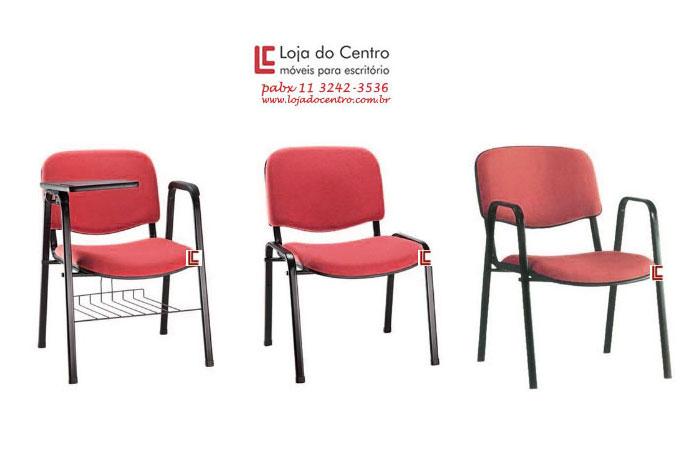 Cadeira Empilhável Auditório - Cadeira Empilhável - Moveis para Escritorio SP