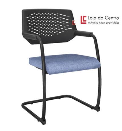 Cadeira Empilhável com Rodízios - Cadeira Empilhável - Moveis para Escritorio SP