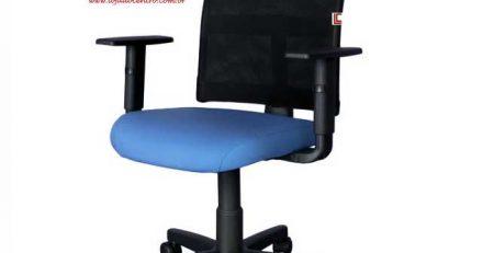 Cadeira Tela Home Office SP, Cadeira Tela Home Office várias cores