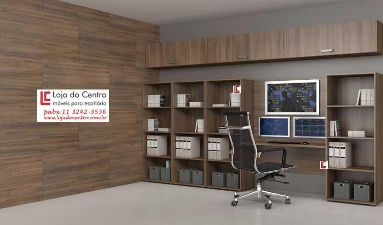 Móveis para Home Office - Armários e Estantes Para Livros - Moveis para Escritorio SP