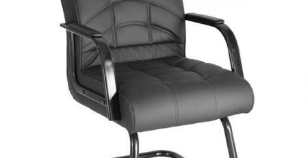 Cadeira Fixa Conforto Preta em SP, Cadeira Fixa para Escritório em SP, cadeira escritório sp