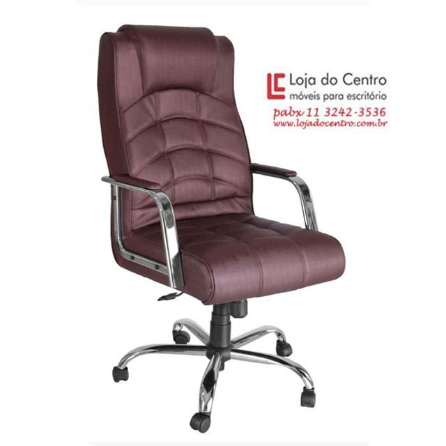 Cadeira Presidente Conforto - Cadeira Presidente - Moveis para Escritorio SP