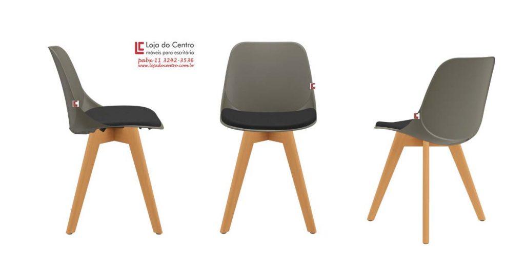 Cadeira retrô, Cadeira Fixa Escritório
