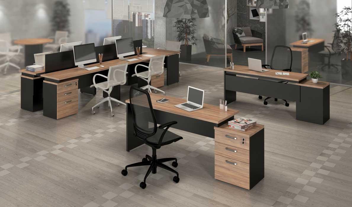 Mesas para notebook m veis e cadeiras para escrit rio e - Escritorio pared ...