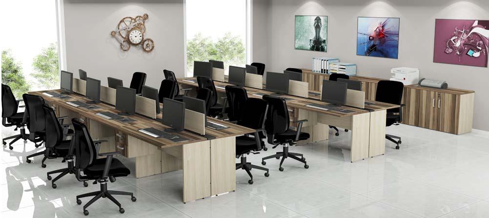 Mesa em l b sica av forte e robusta mdp 25mm promo o for Mesas de escritorio modernas